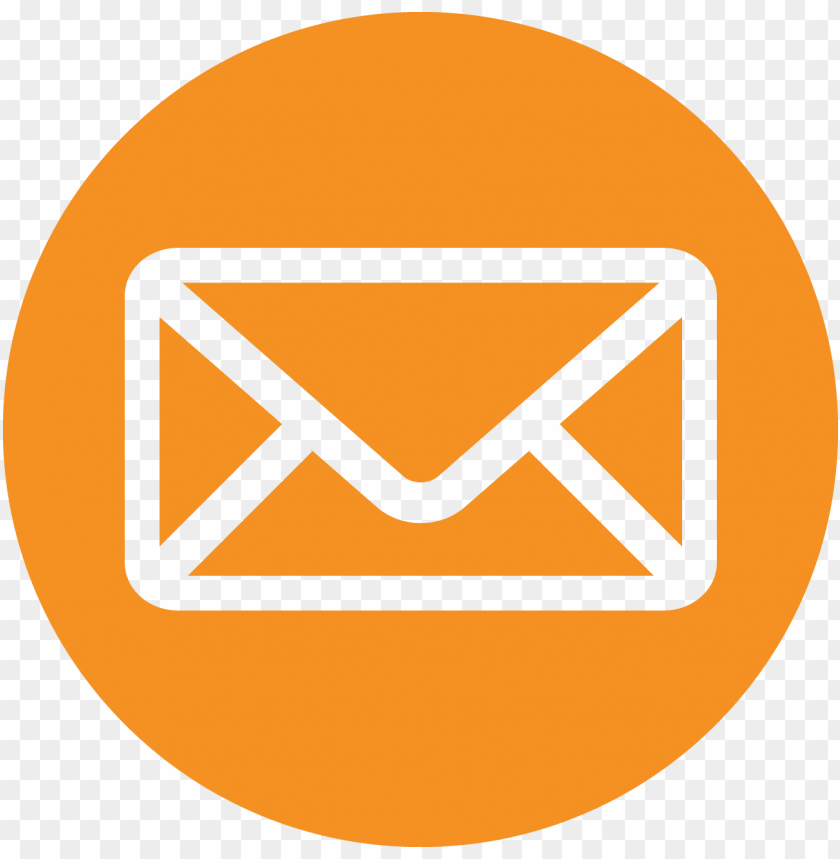 free PNG orange transparent email icon - red email icons PNG image with transparent background PNG images transparent