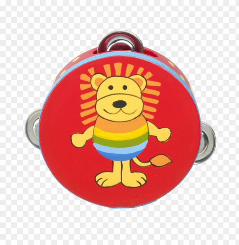 free PNG orange tree toys lion tambourine PNG image with transparent background PNG images transparent