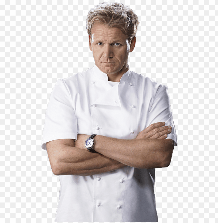 free PNG ordon ramsay - gordon ramsay cross arms PNG image with transparent background PNG images transparent