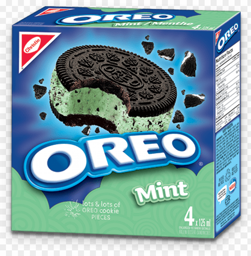 free PNG oreo menthe - chocolate oreo ice cream sandwich PNG image with transparent background PNG images transparent