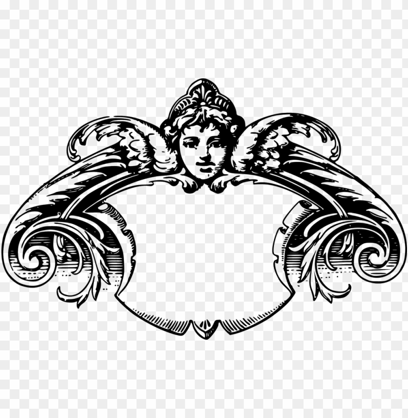 free PNG orgeous free vintage frame borders and images - victorian frame clip art PNG image with transparent background PNG images transparent