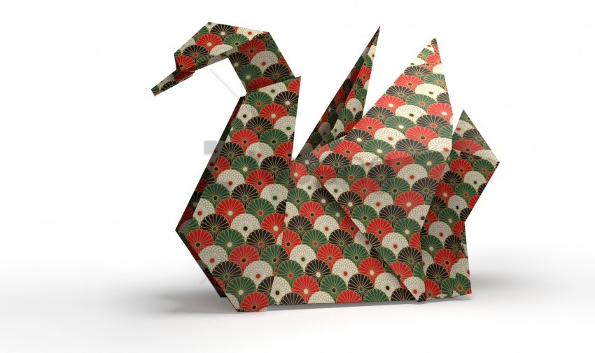 free PNG origami, paper, swan wallpaper background best stock photos PNG images transparent