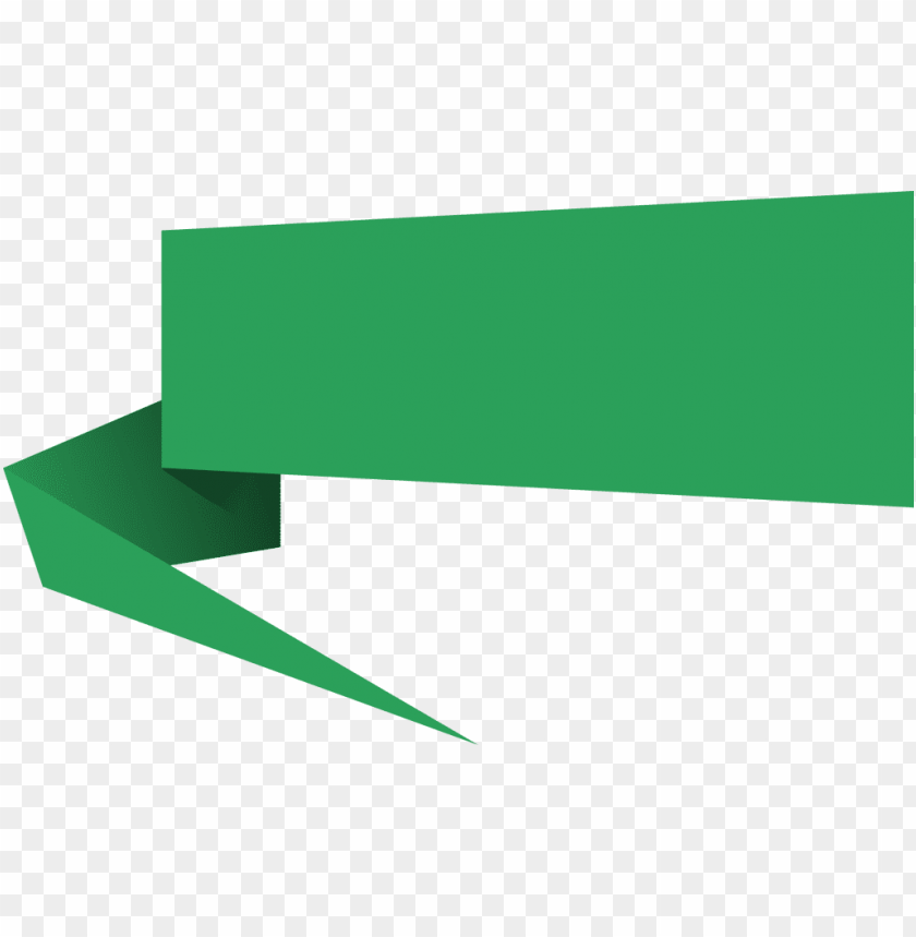 free PNG origami speech banner - banner PNG image with transparent background PNG images transparent