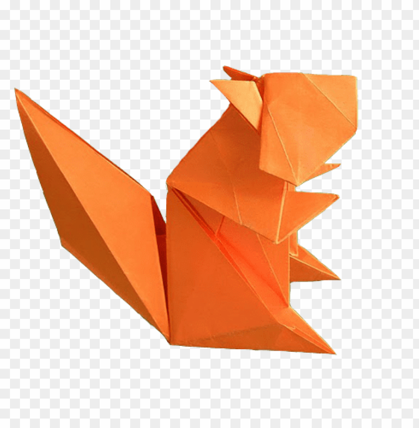 free PNG Download origami squirrel png images background PNG images transparent