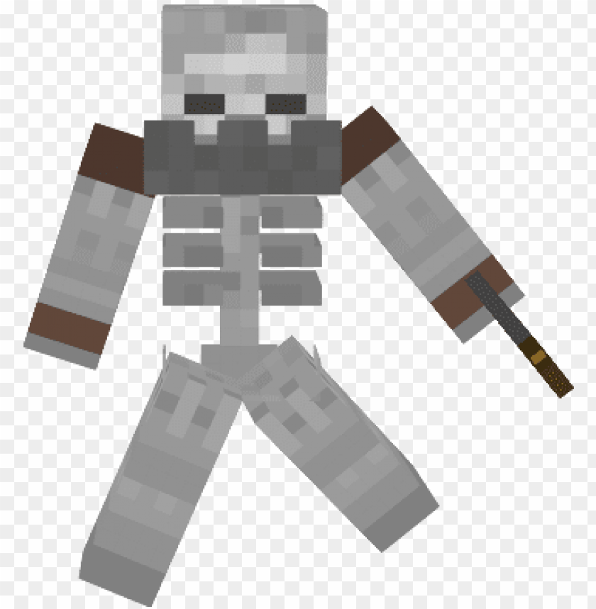 free PNG original mutant skeleton - minecraft mutant skeleton PNG image with transparent background PNG images transparent