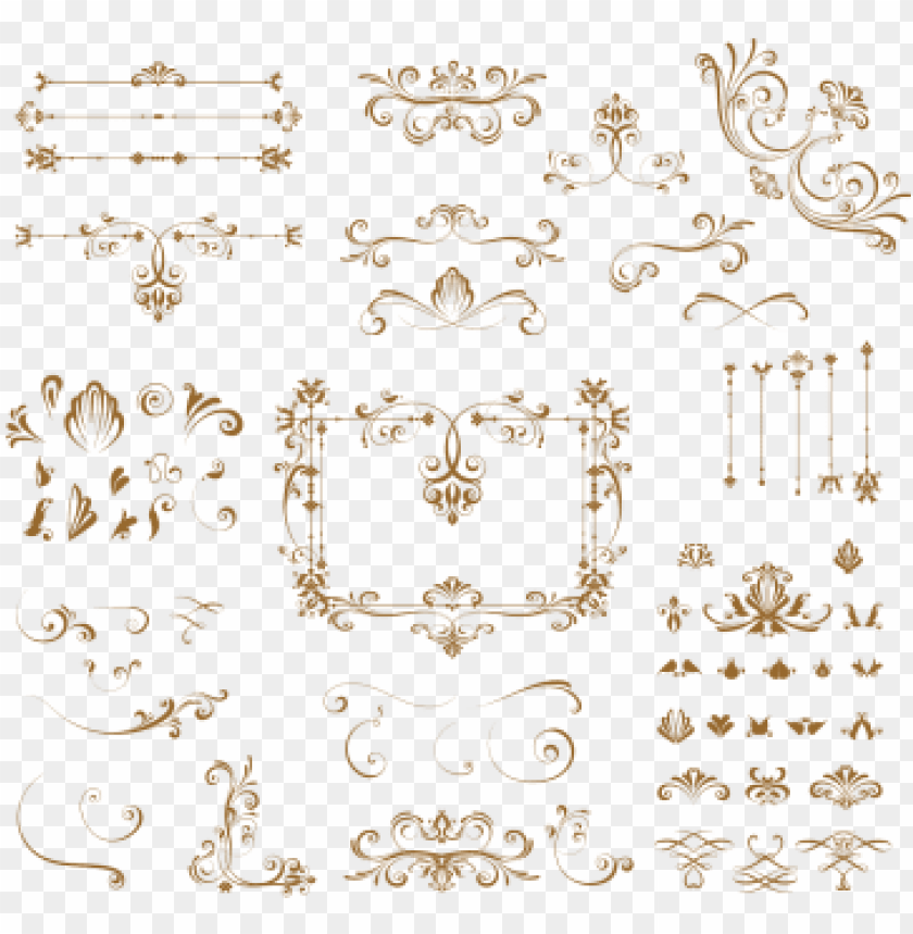 free PNG ornament retro, vintage, ornaments, vector png and - ornament PNG image with transparent background PNG images transparent