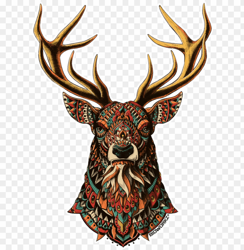 free PNG ornate buck PNG image with transparent background PNG images transparent