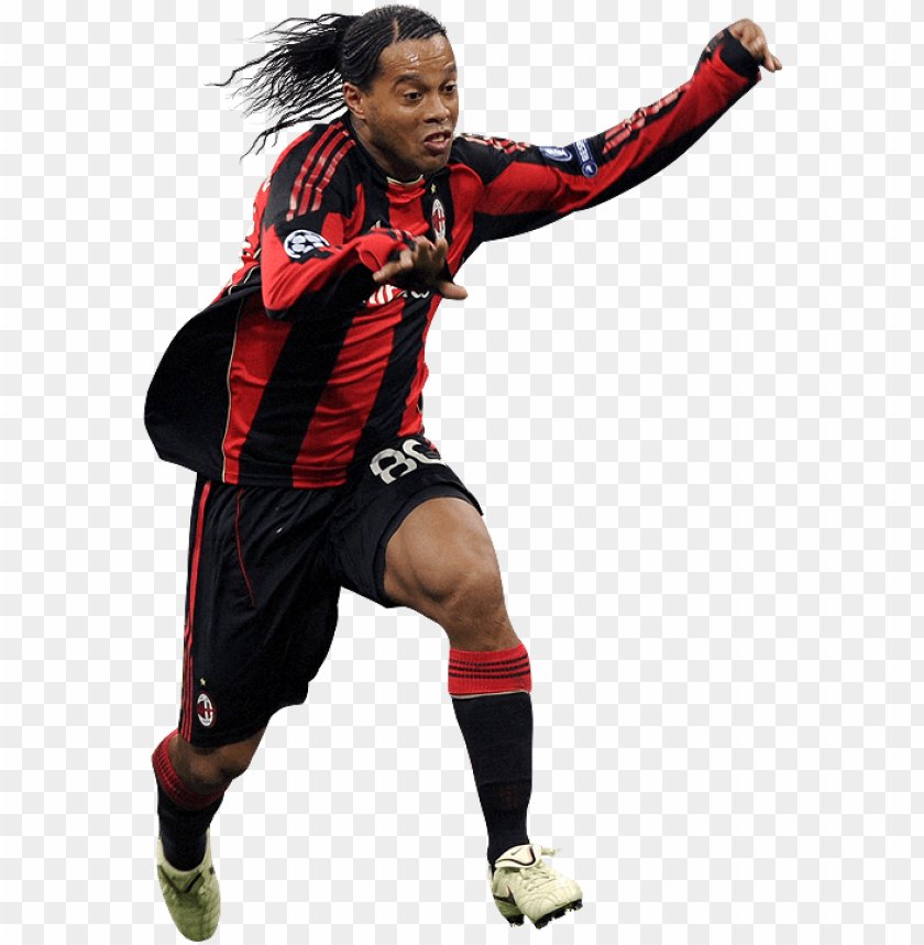 free PNG ortal da web - ronaldinho milan PNG image with transparent background PNG images transparent