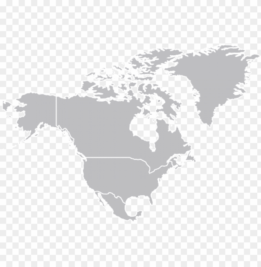 free PNG orth america map png hd - north america map vector PNG image with transparent background PNG images transparent