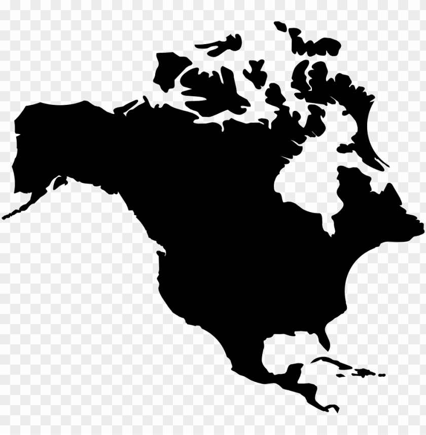 free PNG orth america png - north america map ico PNG image with transparent background PNG images transparent