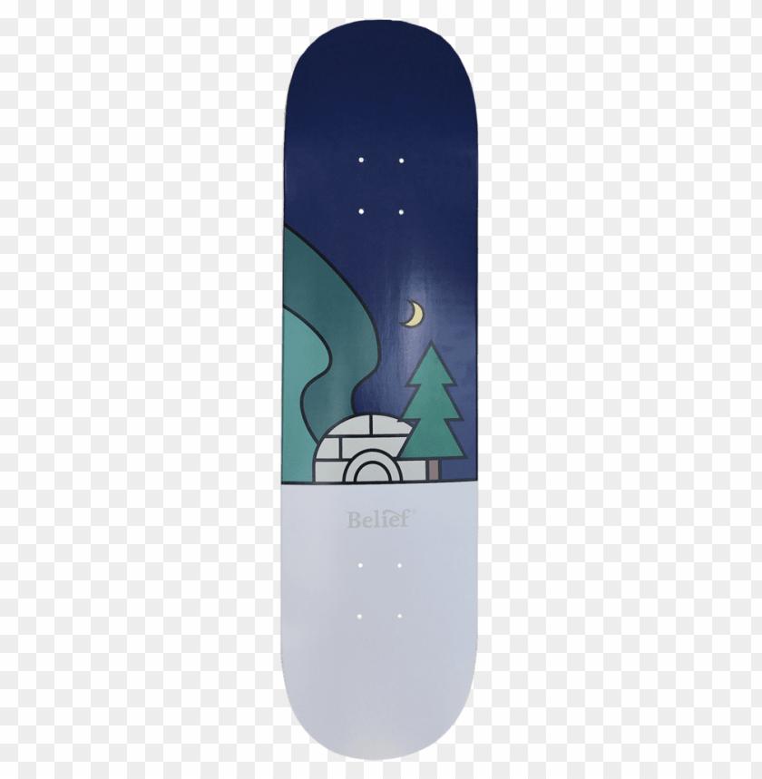 free PNG orthern lights deck - skateboard deck PNG image with transparent background PNG images transparent