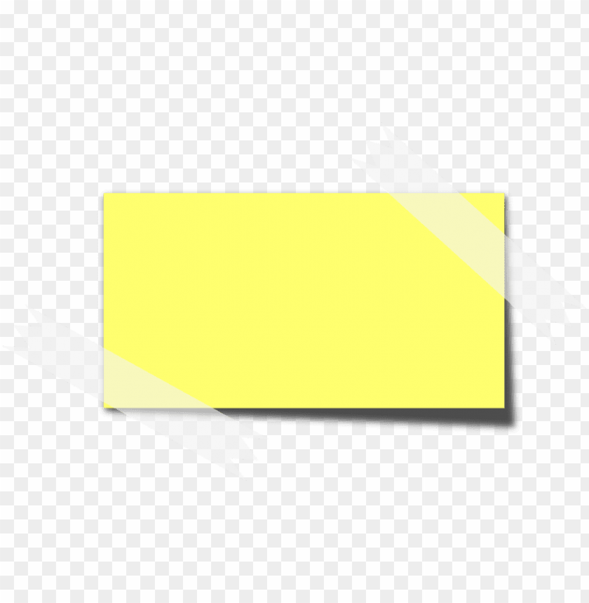 free PNG ost-it, sticky note, memo, yellow, tape, note, paper - sticky note cartoon PNG image with transparent background PNG images transparent