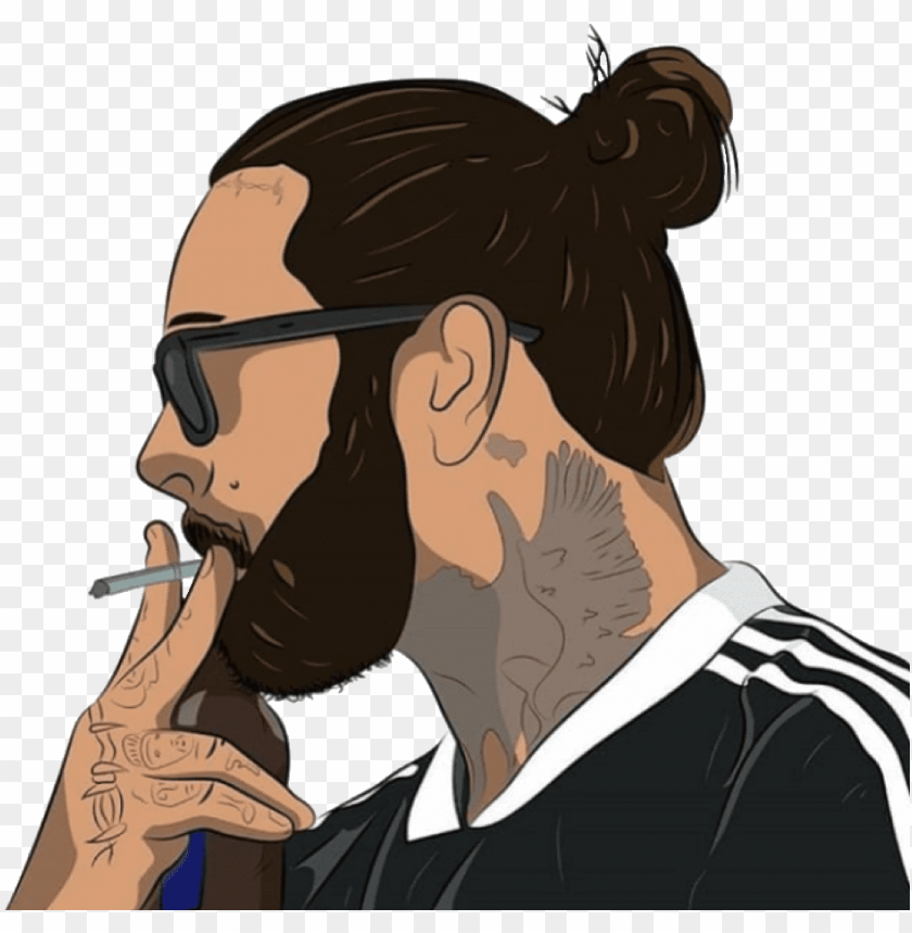 Ostmalone Post Malone Posty Png Crop Cropped Celebrity Post Malone Png Image With Transparent Background Toppng
