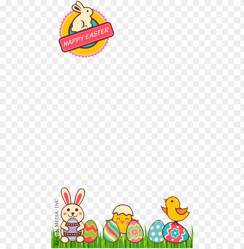 free PNG our custom snapchat filter portfolio - easter snapchat filter transparent PNG image with transparent background PNG images transparent