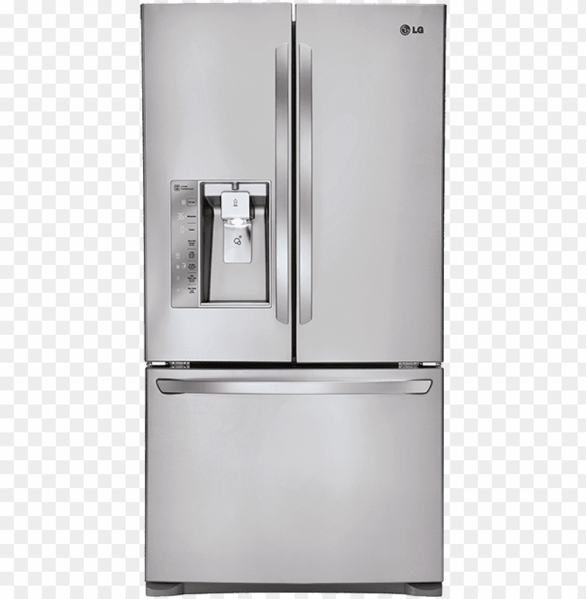 free PNG our french door refrigerators offer the latest advances - lg lfxs30726s french door refrigerator - stainless PNG image with transparent background PNG images transparent