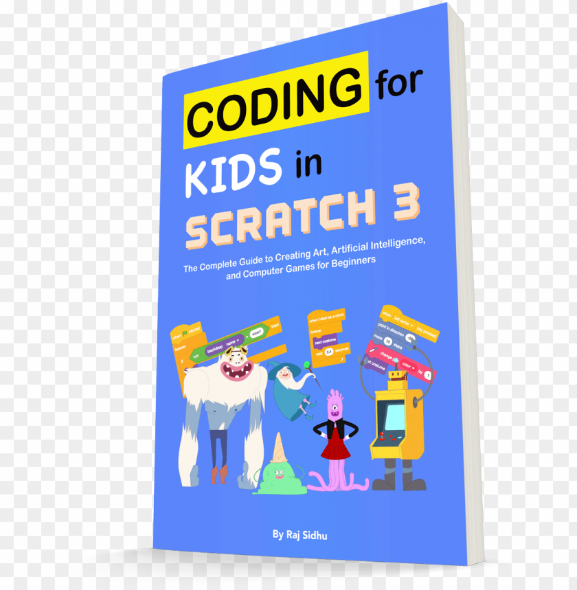 free PNG our official guide to scratch 3 is here - cartoo PNG image with transparent background PNG images transparent