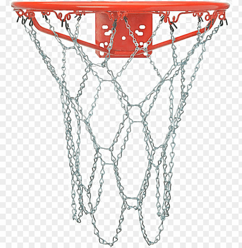 free PNG outdoor galvanized steel chain basketball net - chain net basketball goal PNG image with transparent background PNG images transparent