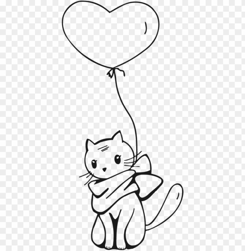 free PNG outline cat line art PNG image with transparent background PNG images transparent