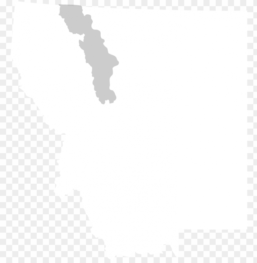 free PNG outline of the flathead basin in montana - states of america montana PNG image with transparent background PNG images transparent