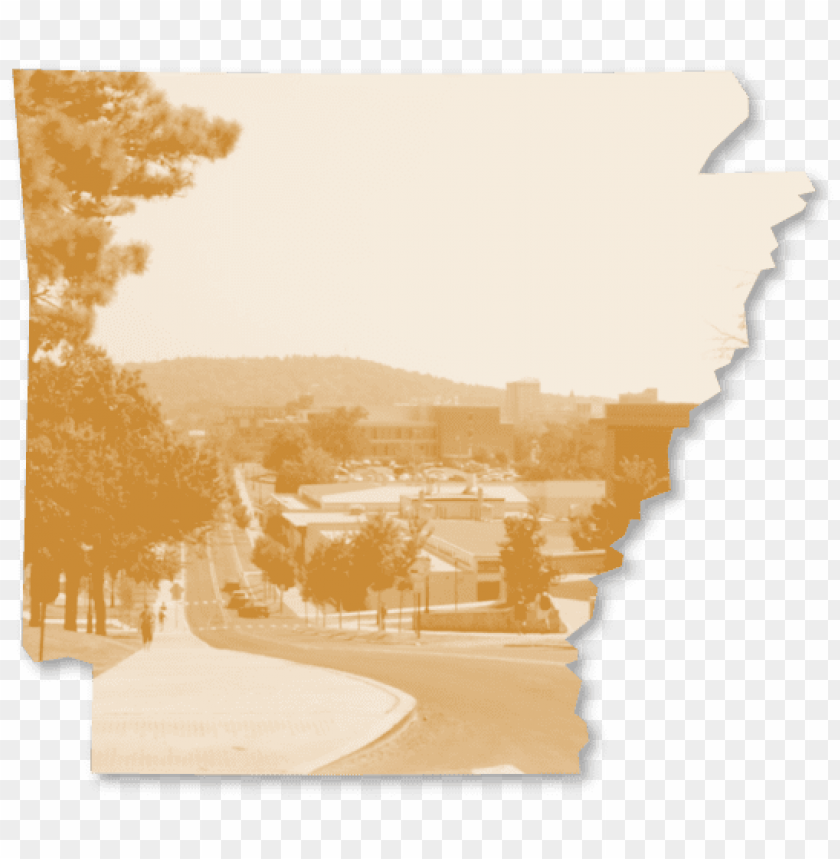 free PNG outline of the state of arkansas framing a photo of PNG image with transparent background PNG images transparent