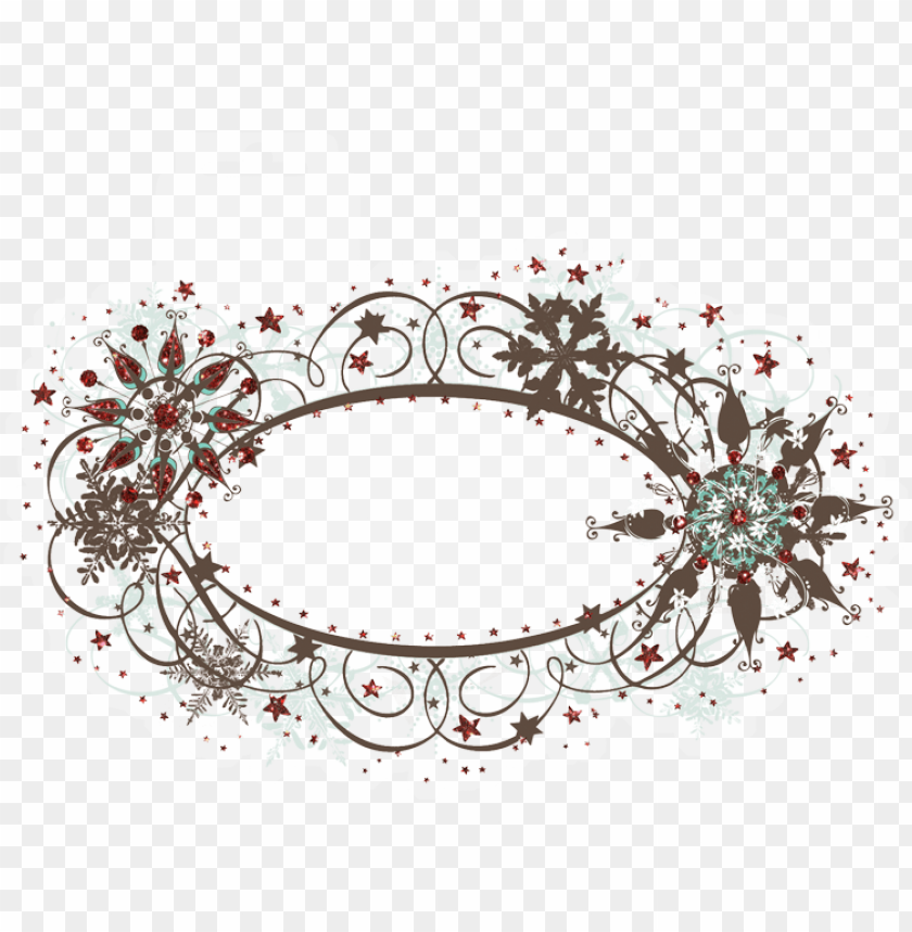 free PNG oval christmas designs - christmas oval borders and frames PNG image with transparent background PNG images transparent