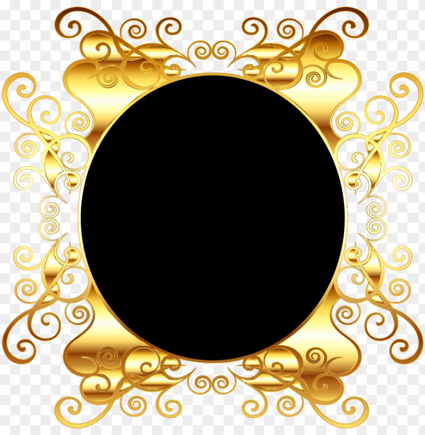 free PNG oval gold frame png png medium - oval border vector graphics transparent background PNG image with transparent background PNG images transparent