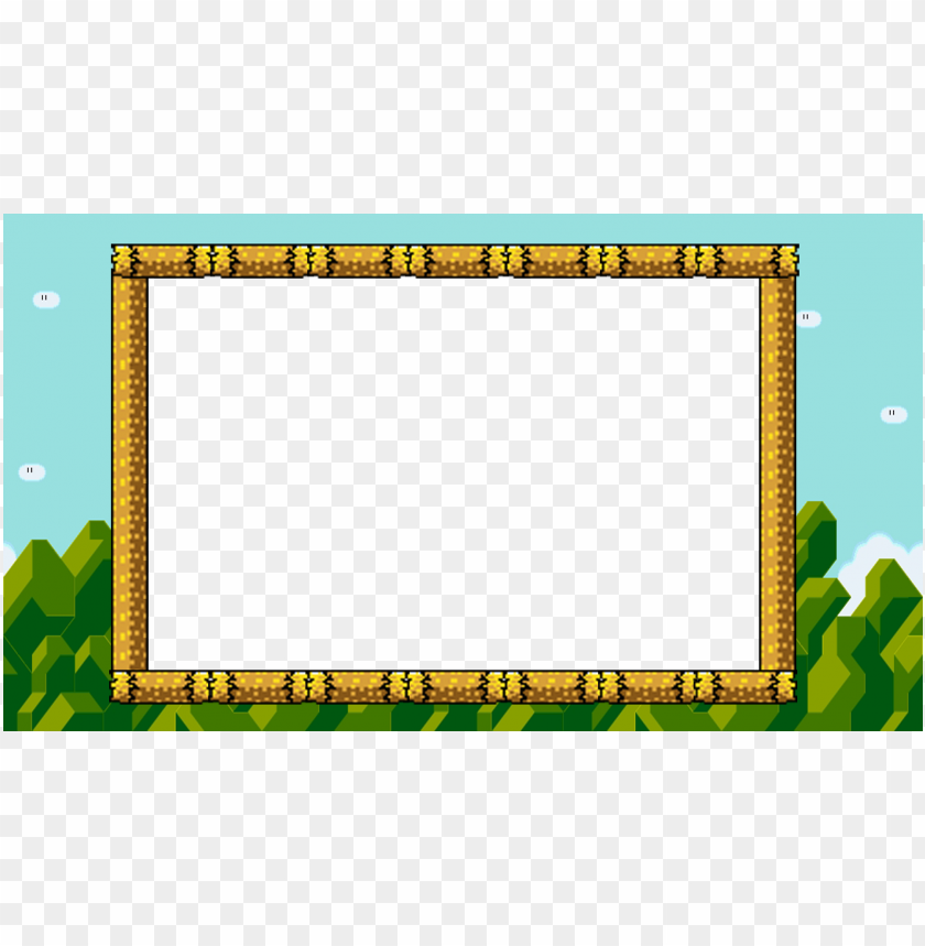 free PNG overlay i use for when i stream smw - picture frame PNG image with transparent background PNG images transparent