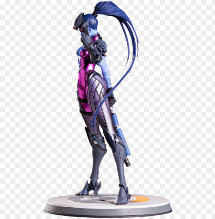 free PNG overwatch widowmaker statue 360 view PNG image with transparent background PNG images transparent