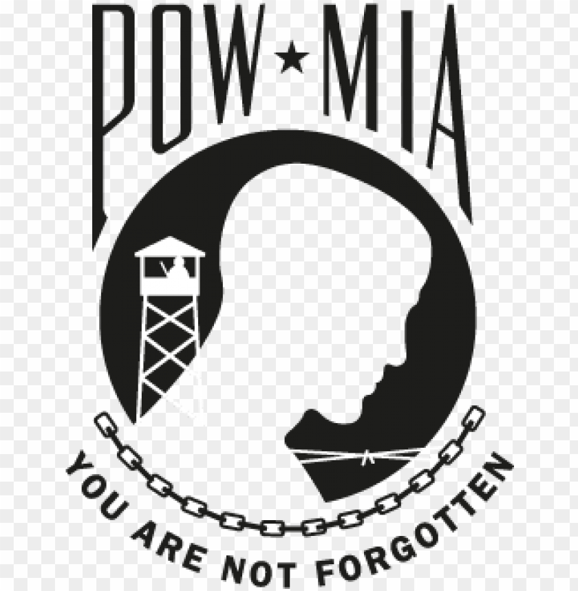 free PNG ow mia vector logo, download - 2 cupcake 12 per sheet pow mia logo edible cake or PNG image with transparent background PNG images transparent
