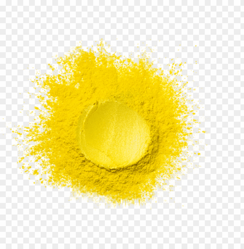 free PNG owder - yellow luster - metallic paint - water based - metallic paint PNG image with transparent background PNG images transparent