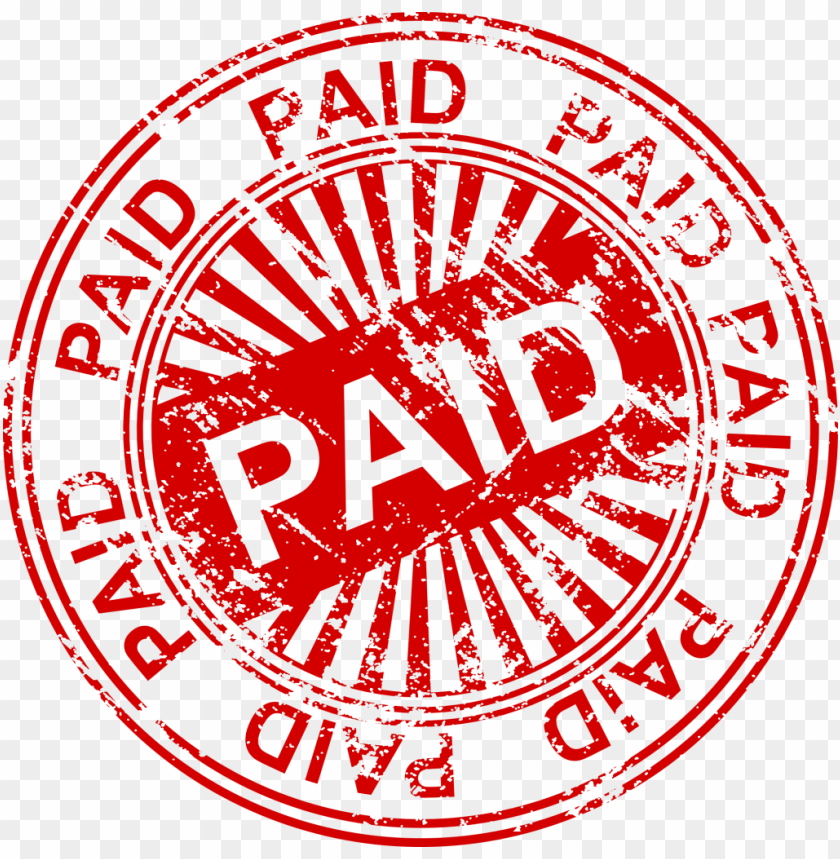 free PNG paid stamp png - Free PNG Images PNG images transparent