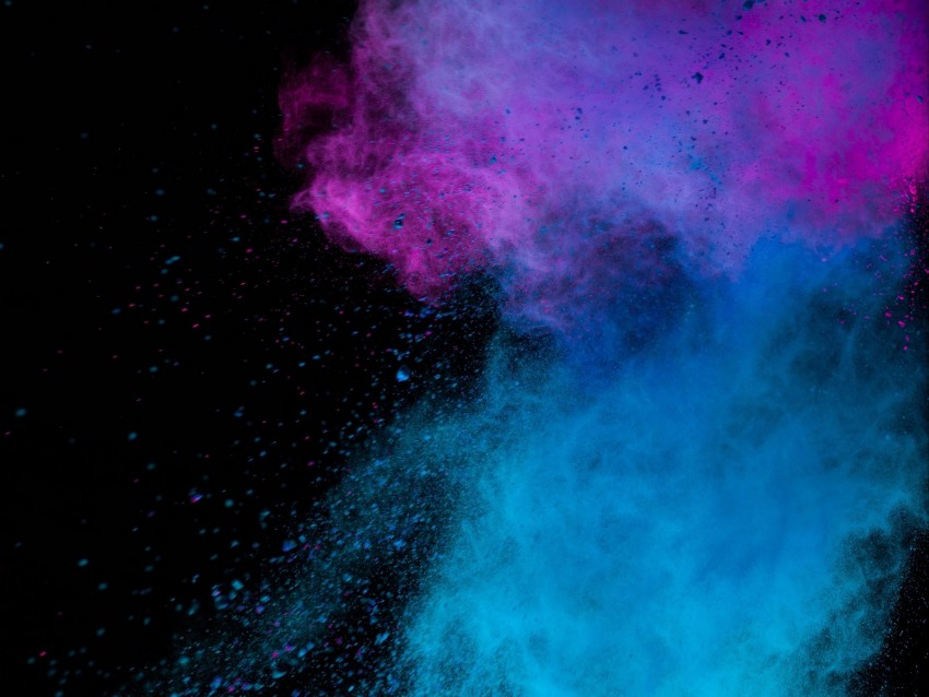 free PNG paint, holi, multicolored, particles background PNG images transparent