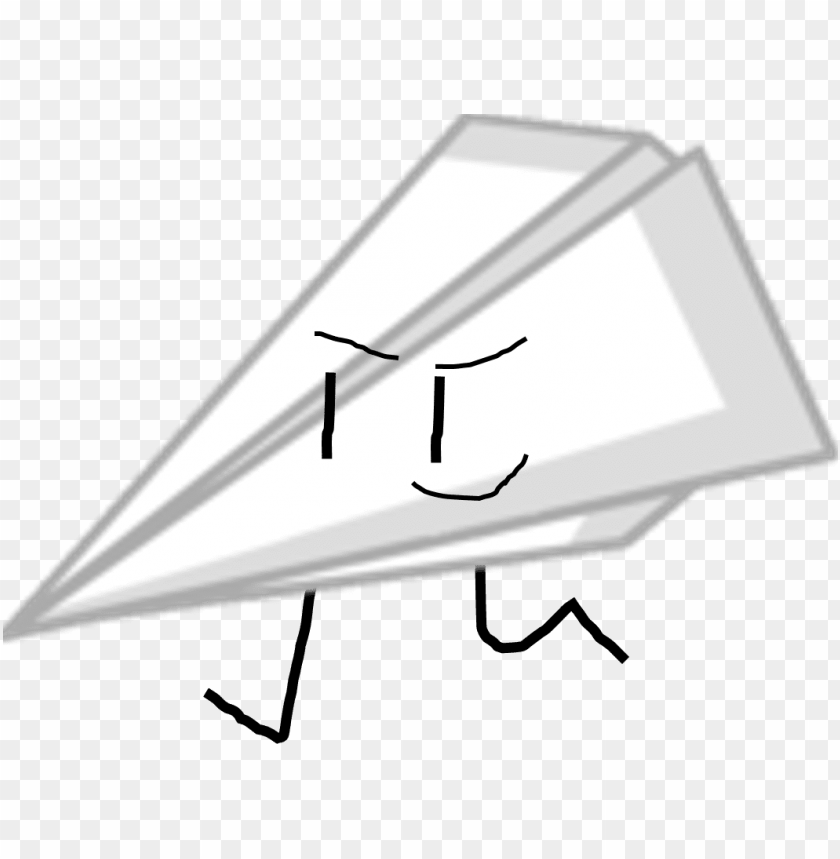 free PNG paper airplane bfdi PNG image with transparent background PNG images transparent