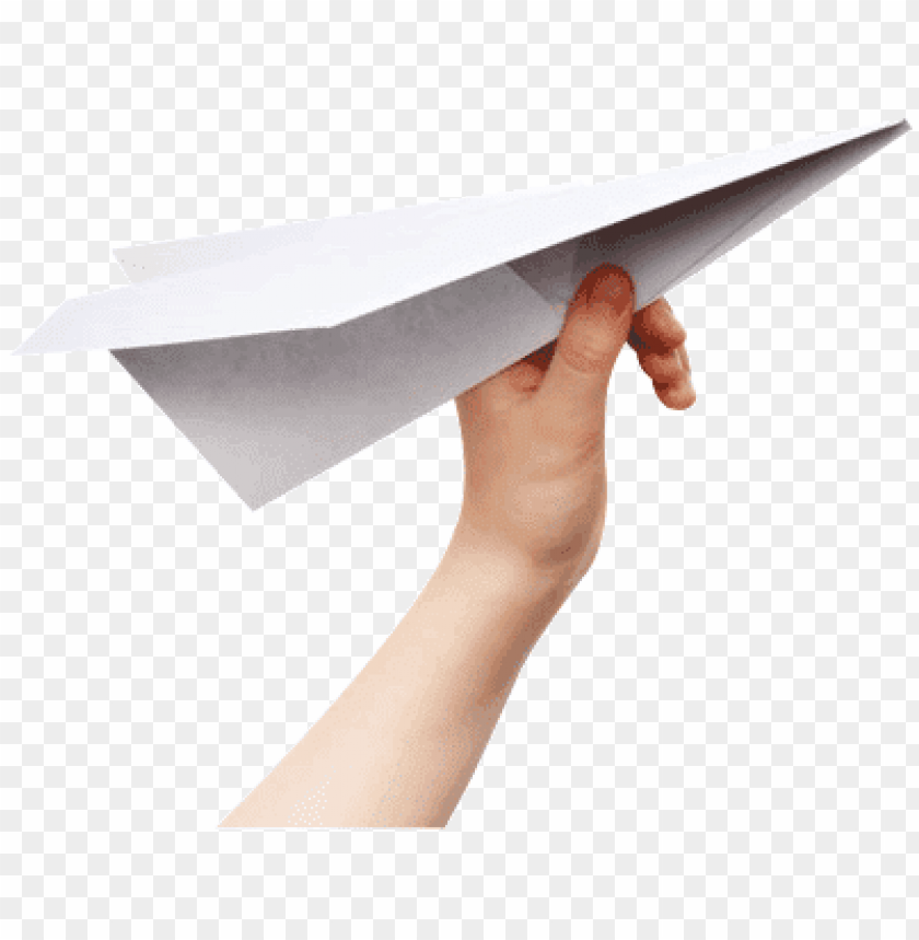 free PNG paper airplane hand PNG image with transparent background PNG images transparent