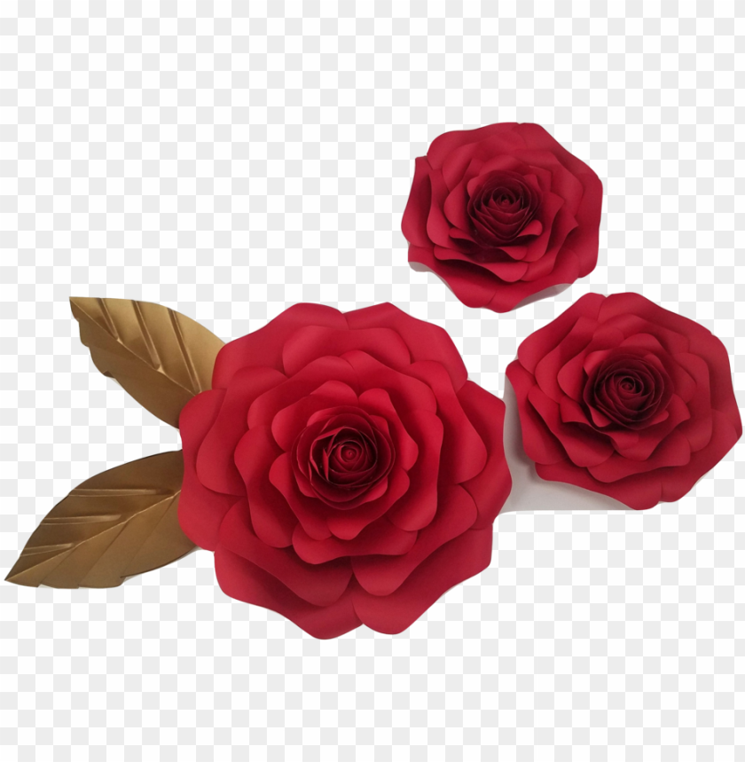 free PNG [paper flower] [paper flower sets] [decor in the box][ - red paper flower PNG image with transparent background PNG images transparent