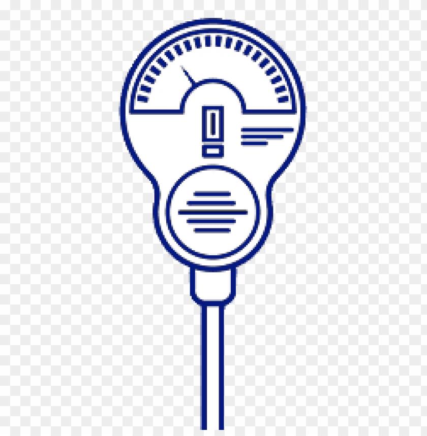 free PNG Download parking meter blue illustration png images background PNG images transparent