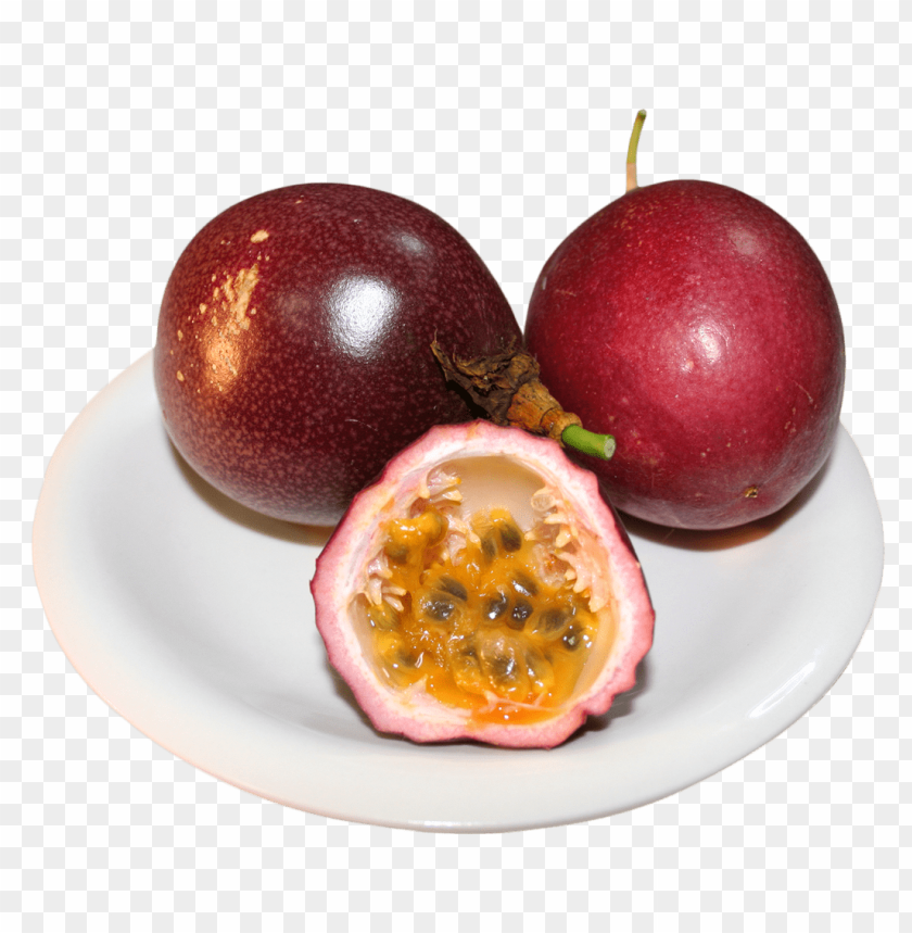free PNG Download passion fruit in plate png images background PNG images transparent