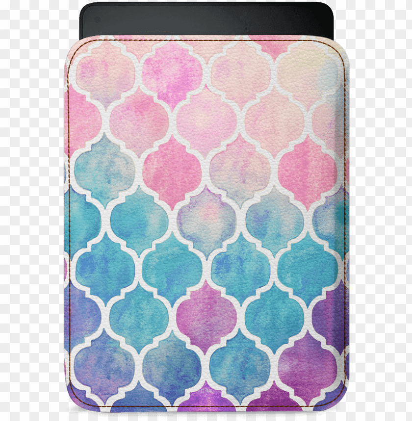 free PNG pastel colored watercolor moroccan pattern blank note PNG image with transparent background PNG images transparent