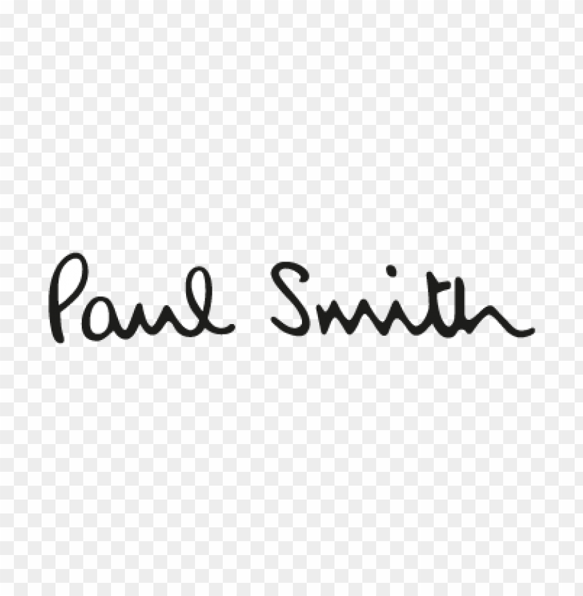 free PNG paul smith vector logo free PNG images transparent