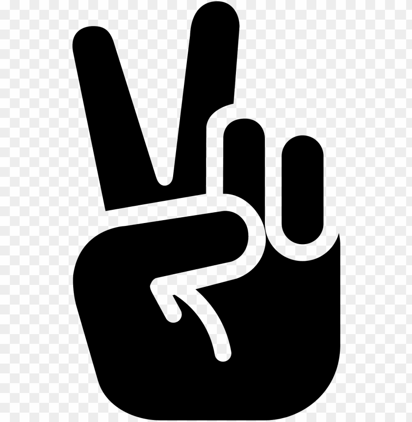 free PNG peace hand icon PNG image with transparent background PNG images transparent