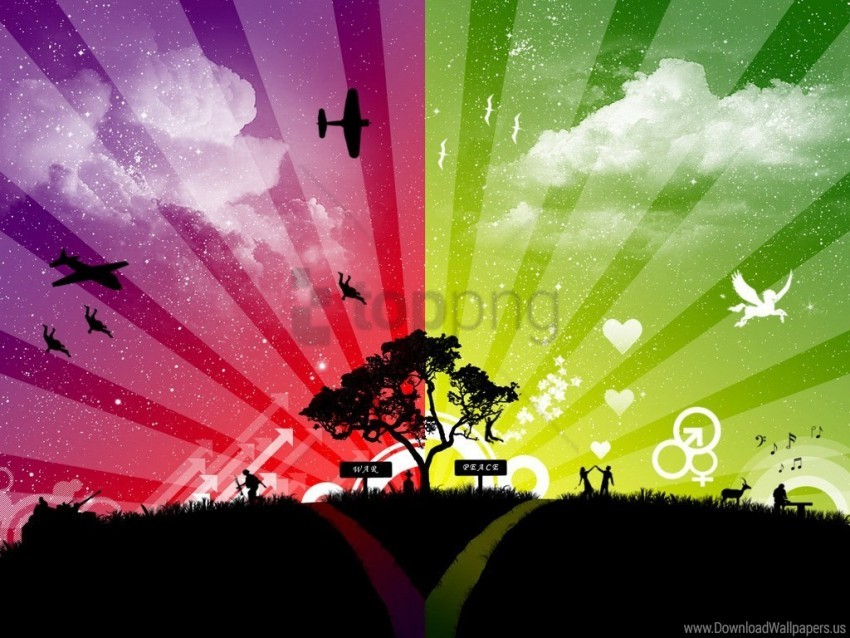 free PNG peace wallpaper background best stock photos PNG images transparent