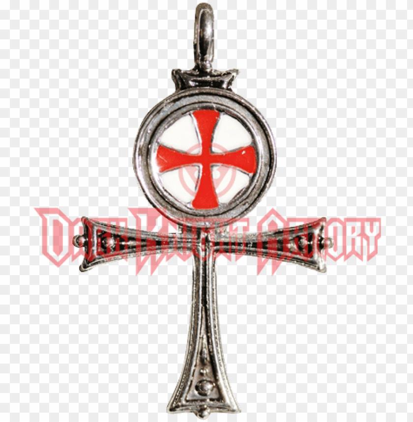 free PNG pendentif croix templière argent PNG image with transparent background PNG images transparent