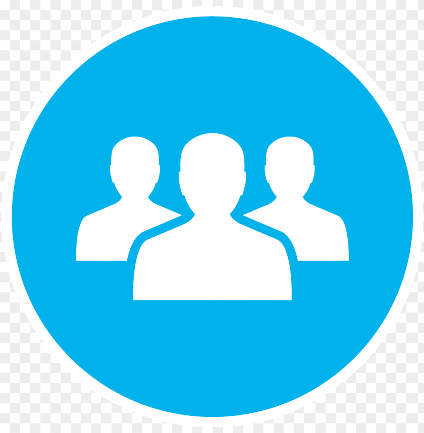 people- - people icon blue png - Free PNG Images@toppng.com