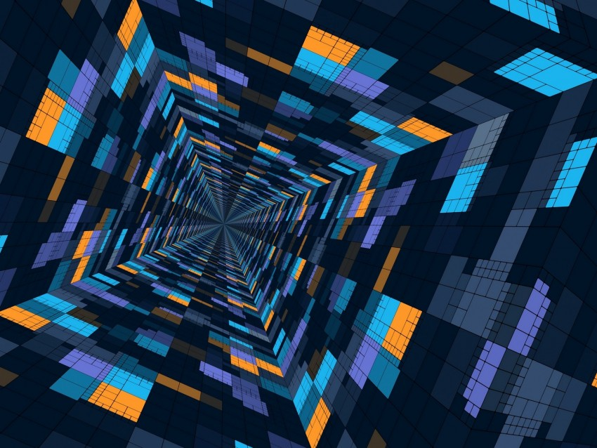 free PNG perspective, geometric, pattern, color, structure, futuristic background PNG images transparent