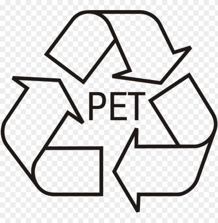 free PNG pet recycling symbol PNG image with transparent background PNG images transparent