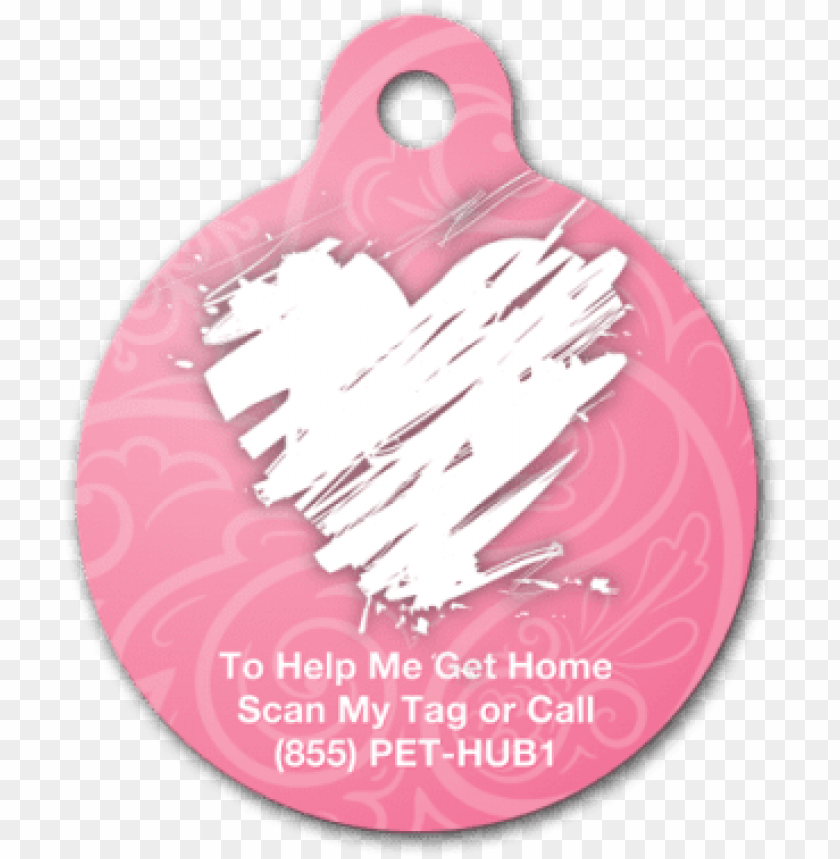 free PNG pethub scribble heart premium pet tag, large PNG image with transparent background PNG images transparent