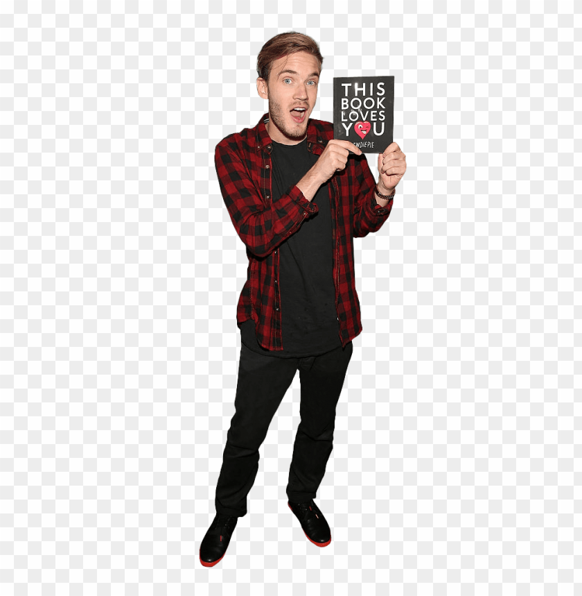free PNG pewdiepie holding book png - Free PNG Images PNG images transparent