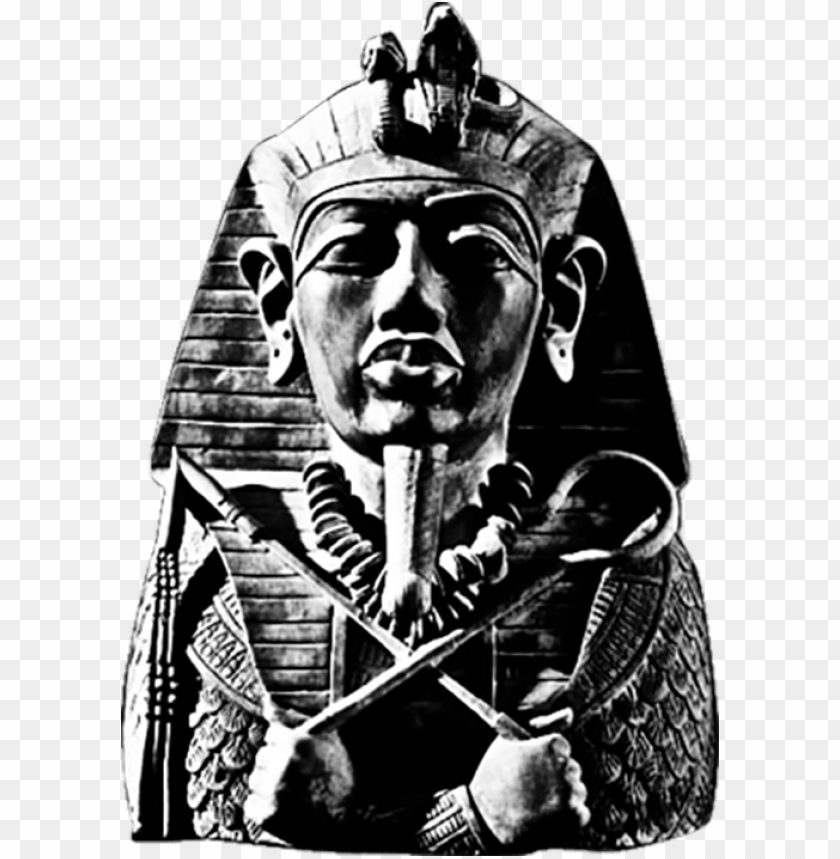 free PNG Download Pharaoh Black and White png images background PNG images transparent
