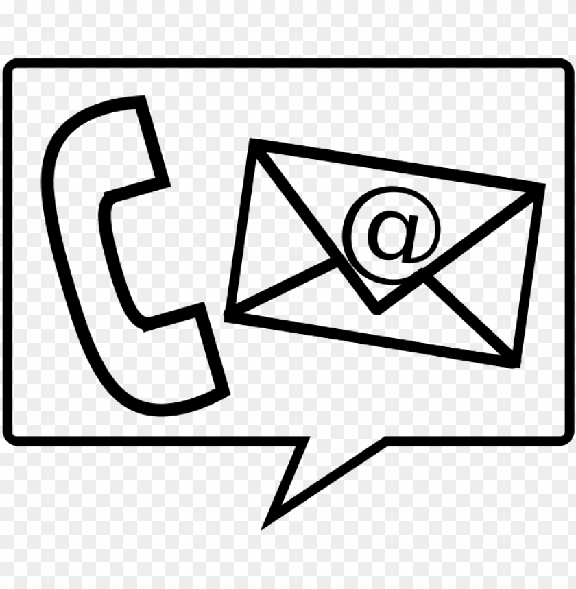 free PNG phone and email PNG image with transparent background PNG images transparent