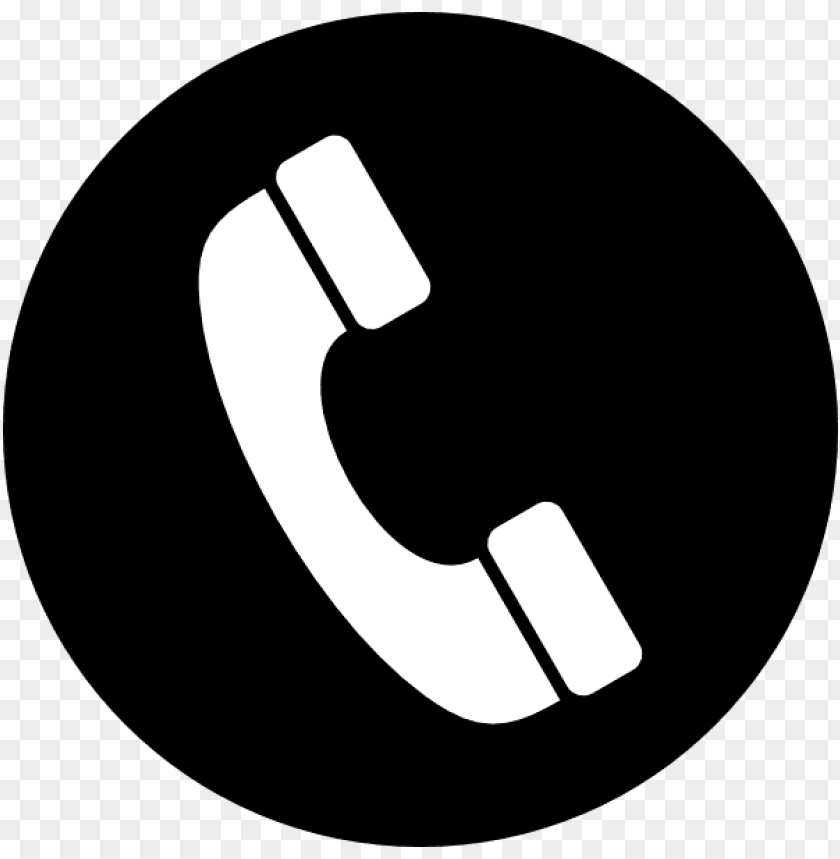 phone icon black PNG image with transparent background | TOPpng
